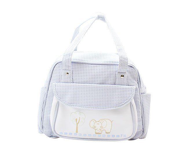 Bolsa Maternidade Azul Elefantinho FofoKit's