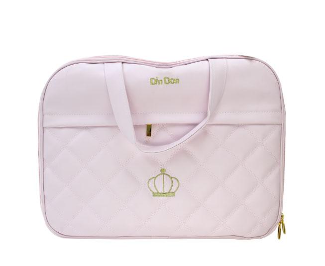 Bolsa Maternidade Coroa Rosa DInDon