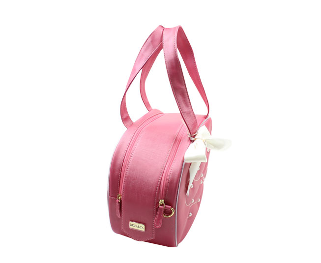 Bolsa Pérola - Rosa com Lacinho Decalta