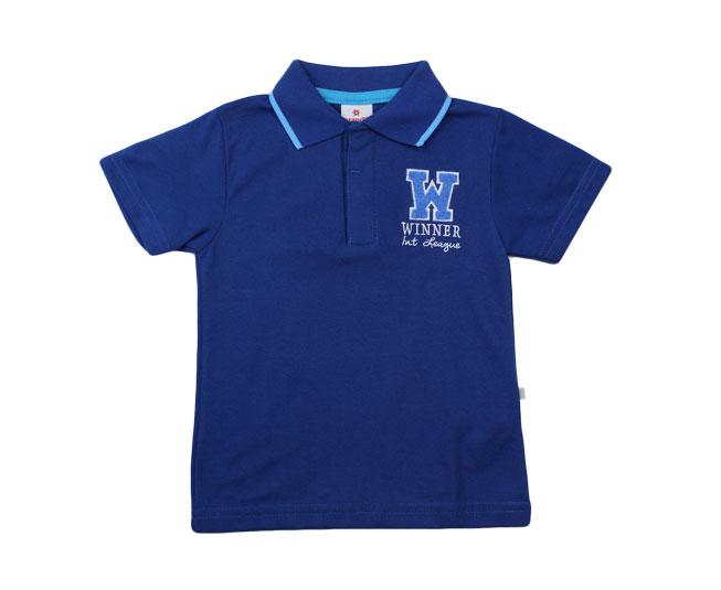 Camisa Azul  Winner Brandili