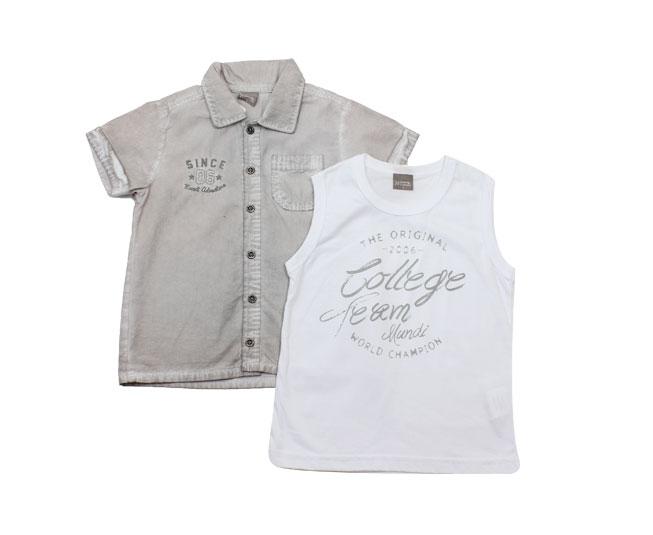 Camisa/Camiseta Adventure Mundi Brandili