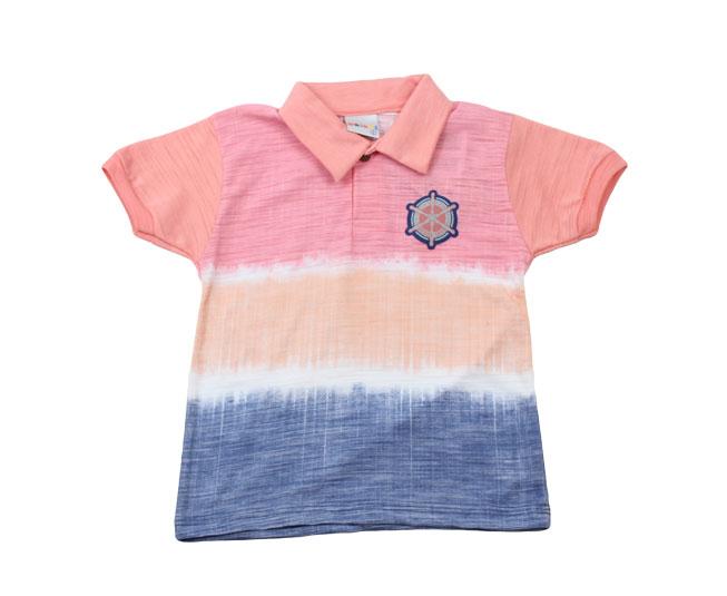 Camisa Gola Tema de Navegação + Botões Kaiani
