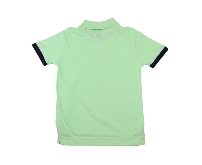 Camisa Gola Verde com Botões Milon