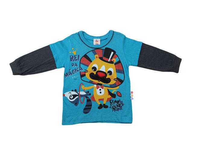 Camisa Manga Longa Leão Rei da Mágica