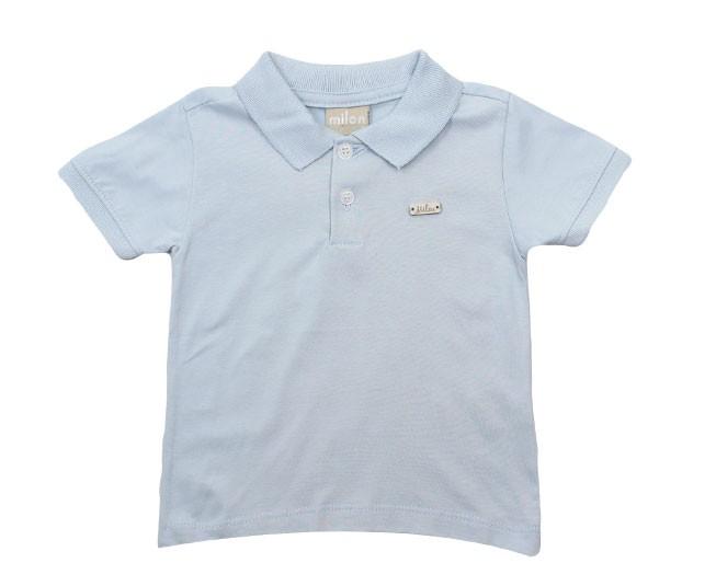 Camisa Polo Azul Aço Milon
