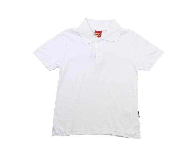 Camisa Polo Branca Kyly