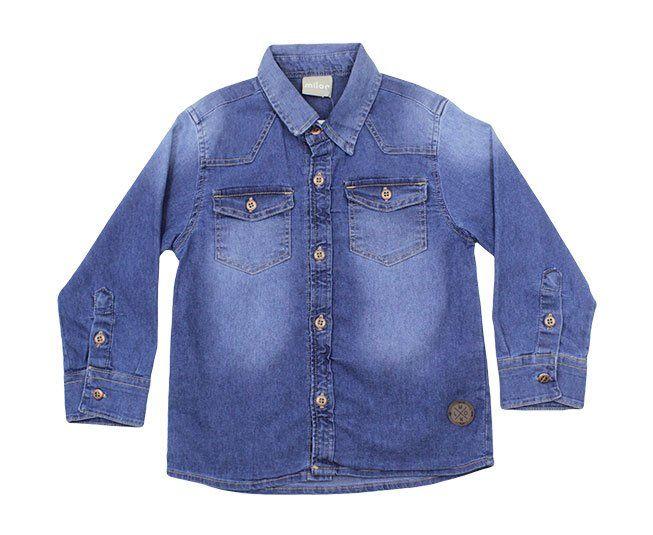 Camisa Polo Jeans Masculina Milon