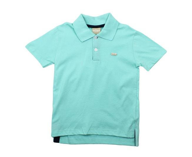 Camisa Polo Verde Claro Milon