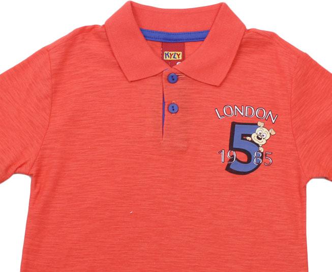Camisa Polo Vermelha Kyly