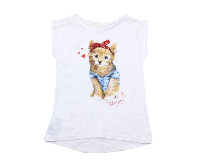 Camiseta Adoro Gatinho Malwee