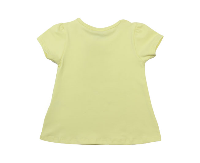 Camiseta Amarela de Passarinhos Milon