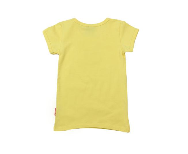 Camiseta Feminina Amarela Kyly