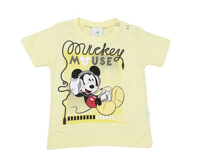 Camiseta Amarela Mickey Mouse Disney Brandili