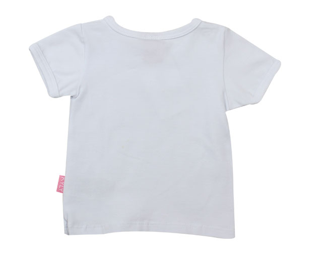 Camiseta Branca Lisa Kyly