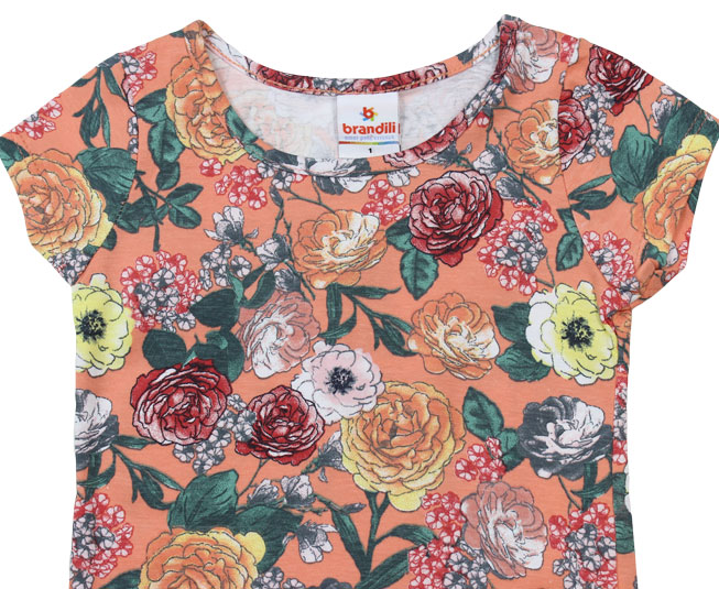 Camiseta Feminina Florida Brandili