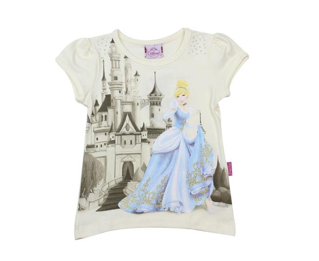 Camiseta Feminina Cinderella Brandili