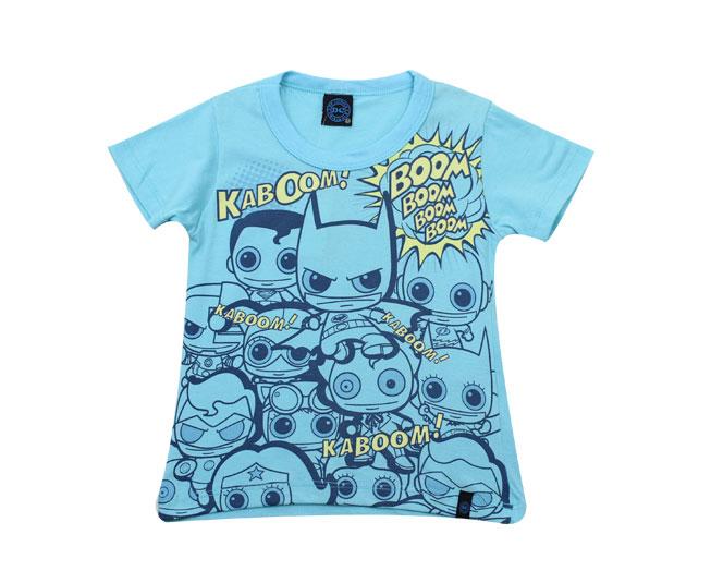 Camiseta DC Comics Heroes Kamylus