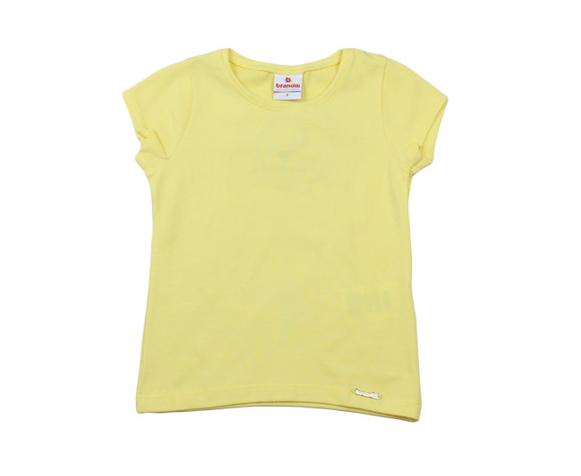 Camiseta Feminina Amarela Brandili