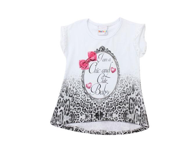 "Camiseta Feminina ""Cute Baby"" Kaiani"