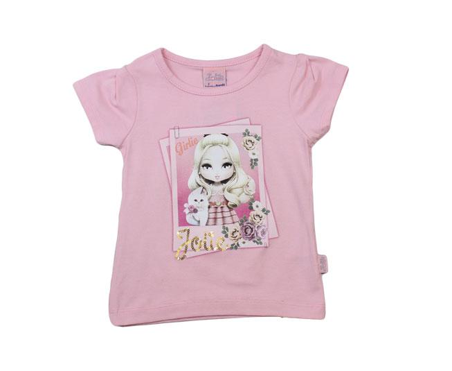 Camiseta Feminina Jolie Brandili