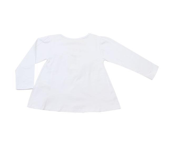 Camiseta Feminina Manga Longa com Lacinho Milon