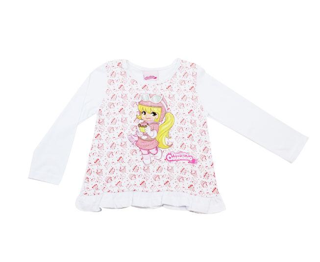 Camiseta Feminina Manga Longa Penelope Charmosa
