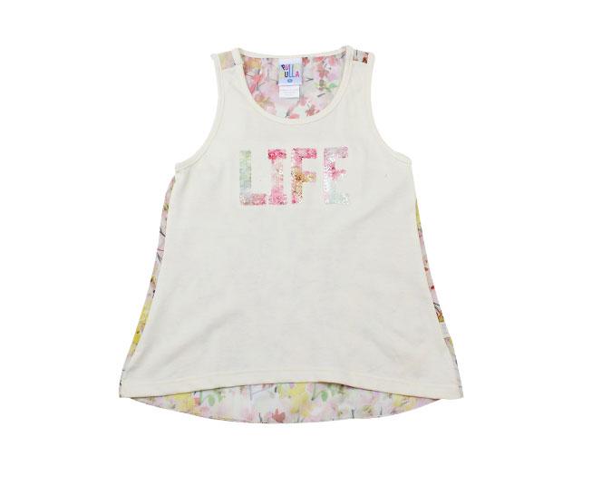 Camiseta Feminina Regata Florida Pulla Bulla