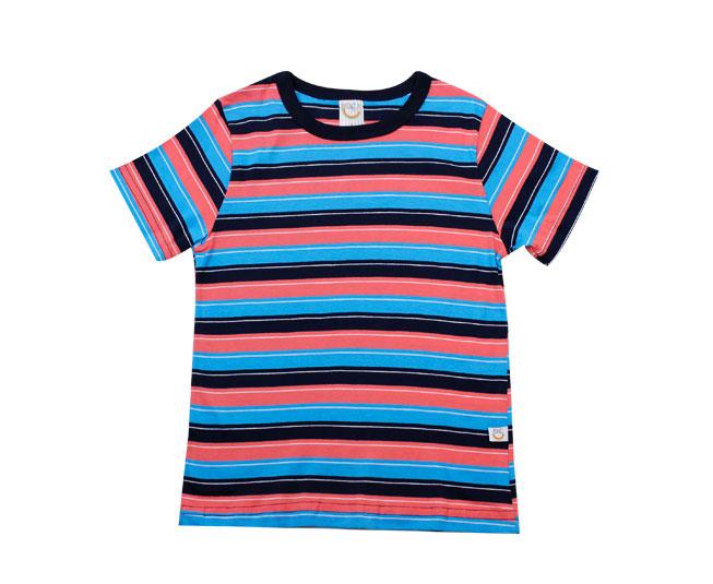 Camiseta Listrada Azul Boca Grande