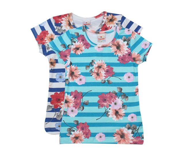 Camiseta Listrada Florida Brandili