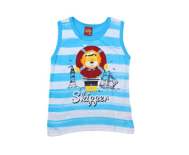 Camiseta Listrada Regata Leão Marinheiro Kyly