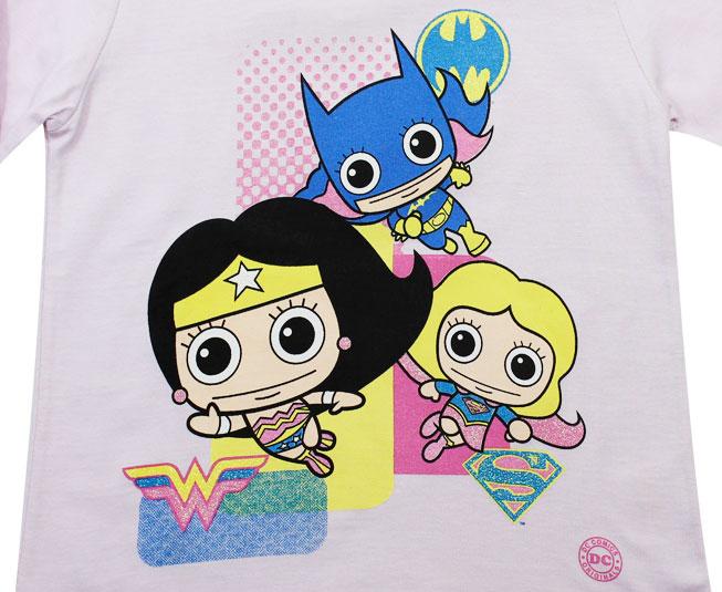 Camiseta Manga Longa Liga da Justiça DC Comics Kamylus