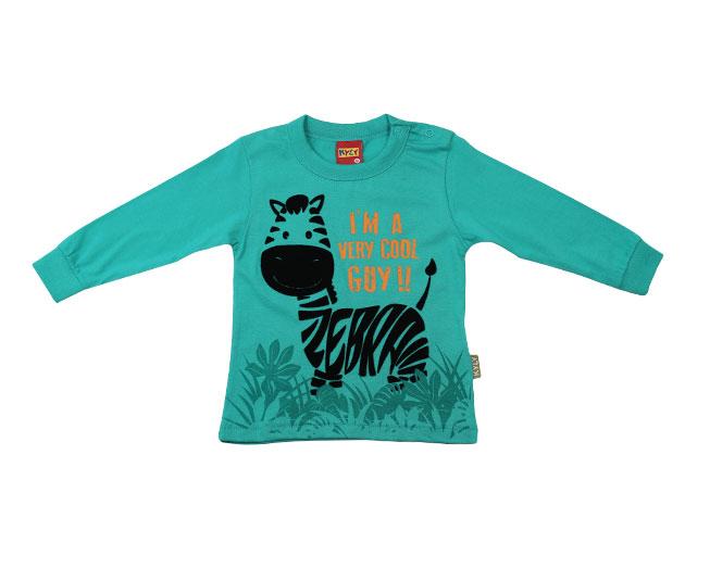 Camiseta Manga Longa Verde Kyly