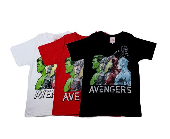 Camiseta Masculina Marvel Avengers Brandili