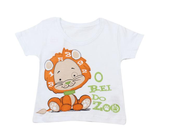 "Camiseta Masculina ""Rei do Zoo"" Kaiani"