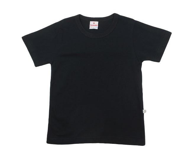 Camiseta Masculina Preta Básica Brandili