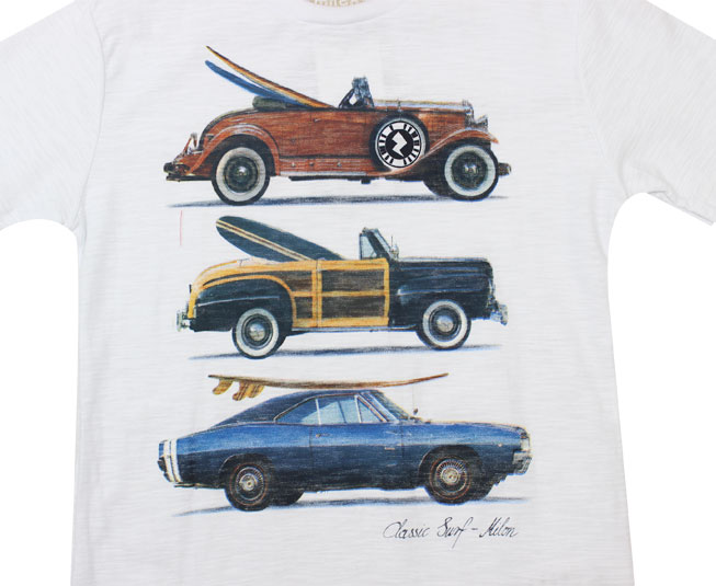 Camiseta Milon Interativa Classic Surf