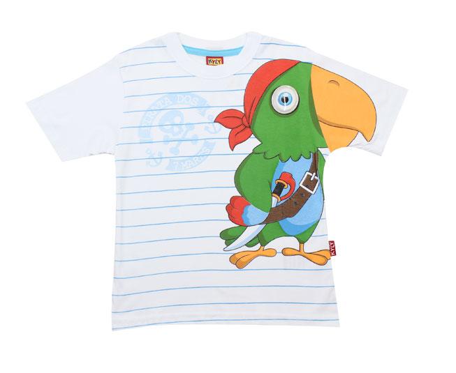 Camiseta Papagaio Pirata Kyly