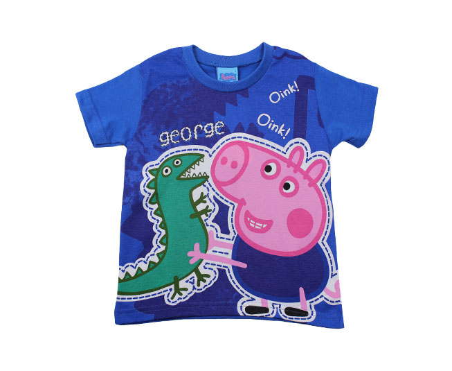Camiseta Peppa Azul Malwee