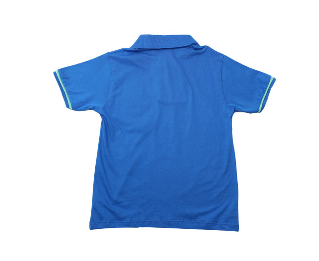 Camiseta Masculina Polo Azul Kaiani