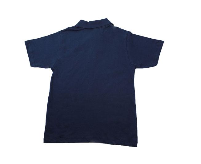 Camiseta Polo Azul Marinho Kaiani
