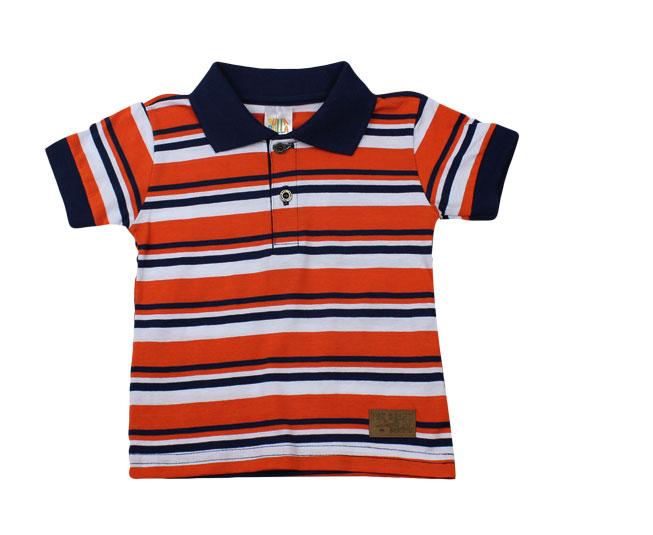 Camiseta Polo Listrada Pulla Bulla