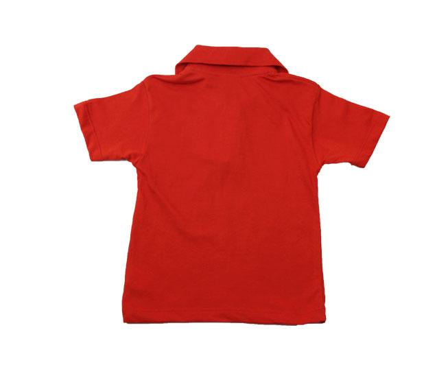 Camiseta Polo Vermelha Kaiani