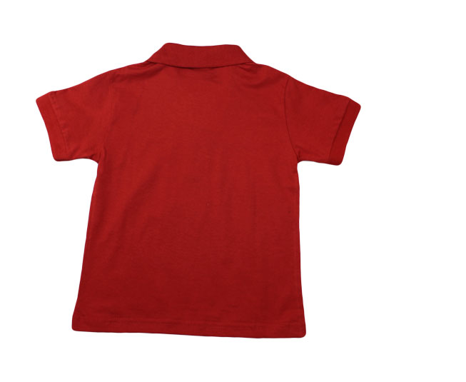 Camiseta Polo Vermelha Pulla Bulla