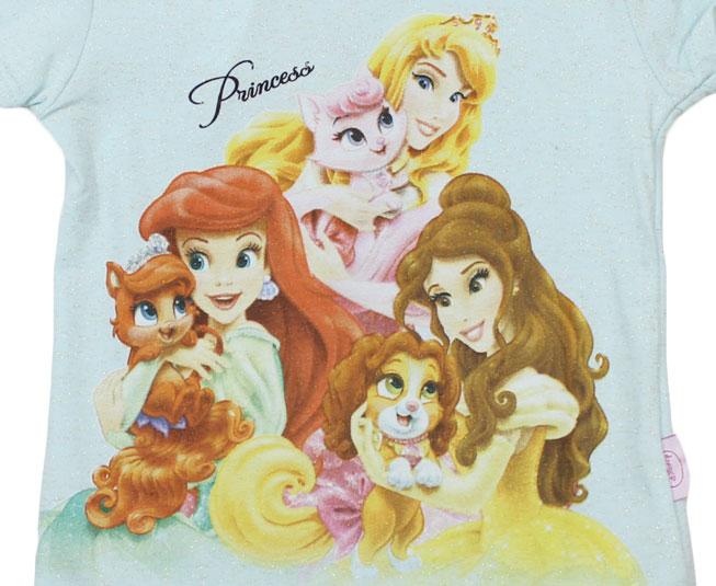 Camiseta Princesas Disney Brandili
