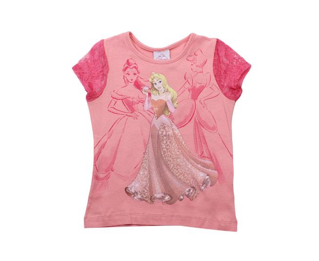 Camiseta Feminina Princesas Disney Brandili