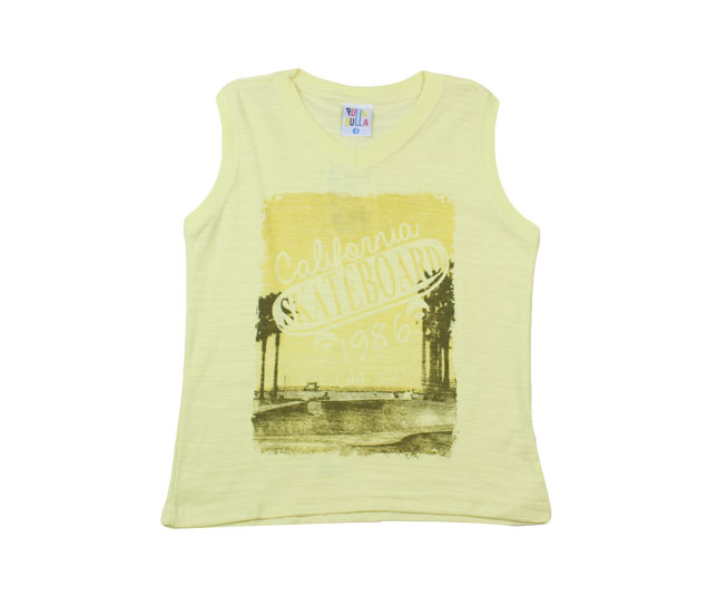 Camiseta Masculina Regata California Skateboard Pulla Bulla