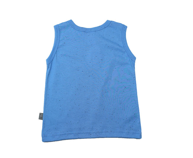 Camiseta Regata Azul Pulla Bulla