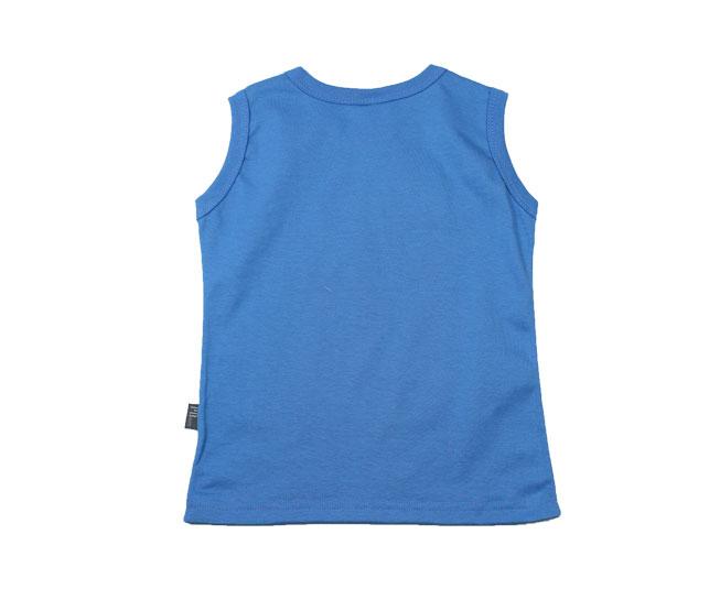 "Camiseta Regata Azul ""Scuba Club"" Pulla Bulla"