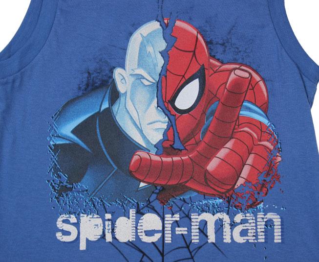Camiseta Regata Masculina Spider-Man Brandili