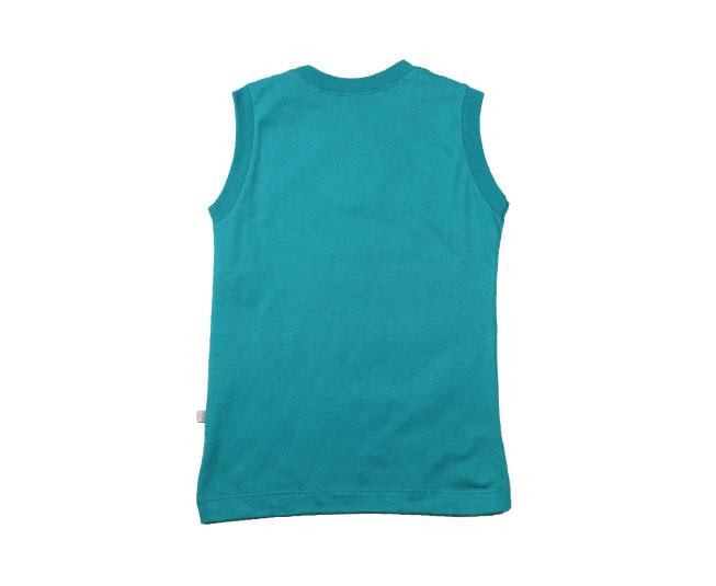 Camiseta Regata Azul Surfing Tubarão Brandili